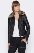 Joie Ailey B Leather Jacket