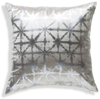 Callisto Home Metallic Velvet Throw Pillow