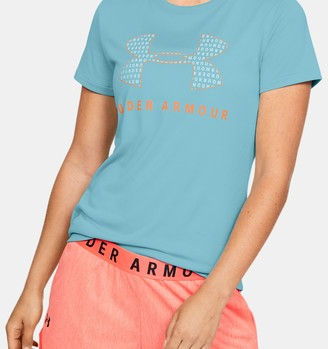 Under Armour Women's UA Tech Logo Graphic Short Sleeve Crew