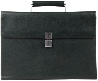 Porsche Design Green Leather Bags