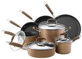 Anolon Advanced 11-Piece Hard Anodized Nonstick Cookware Set