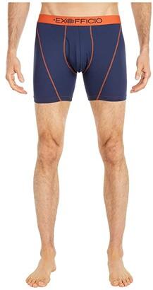 Exofficio 6'' Give-N-Go(r) Sport 2.0 Boxer Brief (Navy/Koi) Men's Underwear