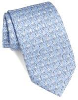 Vineyard Vines Men's Sailboat Print Silk Tie