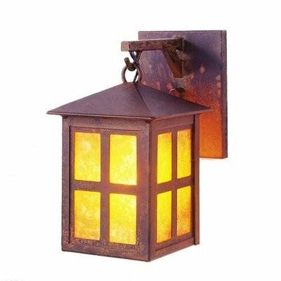 Loon Peak Belgr 1 Light Outdoor Wall Lantern Shopstyle
