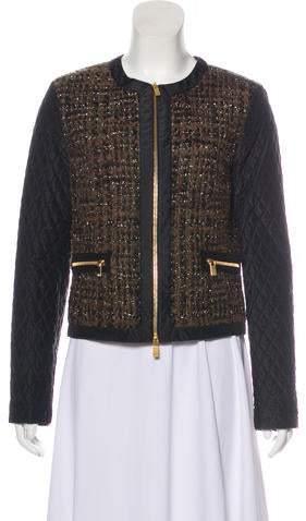 Michael Kors Tweed Quilted Jacket