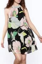 Entro Floral A-Line Dress