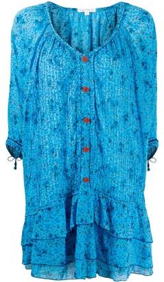 Poupette St Barth Printed Mini-Dress