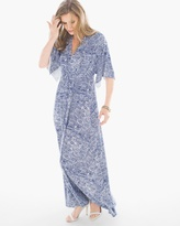 Chico's Bryn Etched Tile Maxi Dress