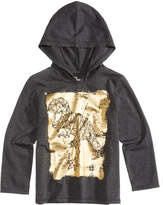 Epic Threads Dinosaur Graphic-Print Hooded Shirt, Little Boys (4-7), Created for Macy's