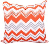 Majestic Home Goods Zazzle Extra Large Pillow, Orange