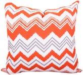 Majestic Home Goods Zazzle Extra Large Pillow, Orange