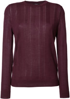 A.P.C. knitted sweater - women - Silk/Merino - XS