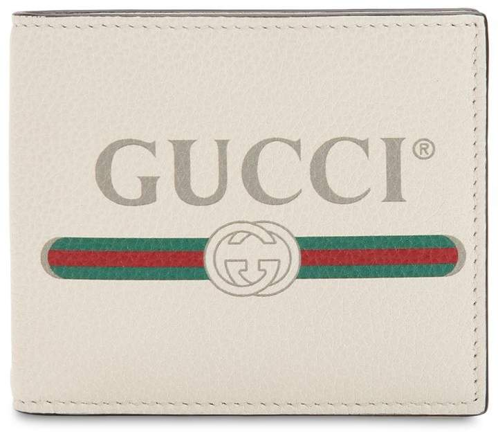 Gucci Vintage Logo Leather Classic Wallet