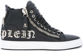 Philipp Plein Amazing hi-top sneakers - men - Calf Leather/Leather/rubber - 41