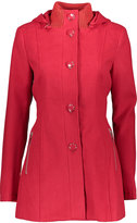 Kensie Red Button-Up Coat