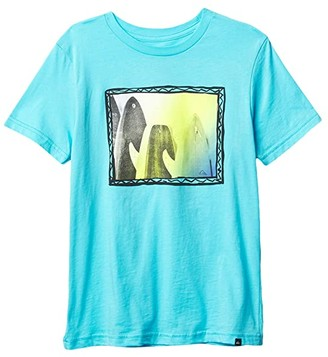 Quiksilver Only Dreams Tee (Big Kids) (Pacific Blue) Boy's Clothing