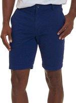 Robert Graham Striped Seersucker Shorts, Blue