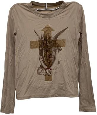 Jean Paul Gaultier Beige Cotton Top for Women