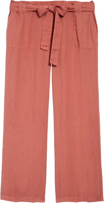 Caslon New Belted Linen Pants