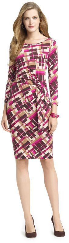 Anne Klein Faux Wrap Dress