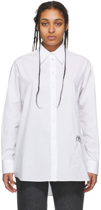 MM6 MAISON MARGIELA White Menswear 1994 Shirt