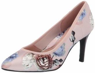 Taryn Rose Women's TESS Pump Pink Rose 5.5 M Medium US