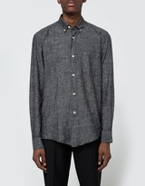 Our Legacy 1940's Black Chambray Shirt