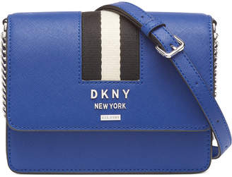 DKNY Liza Leather Small Shoulder Flap Bag