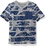 Old Navy Printed V-Neck Pocket Tee for Toddler Boys