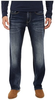 Buffalo David Bitton Driven Relaxed Straight Leg Jeans in Contrast Vintage (Contrast Vintage) Men's Jeans