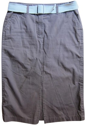 Henry Cotton Brown Cotton Skirt for Women