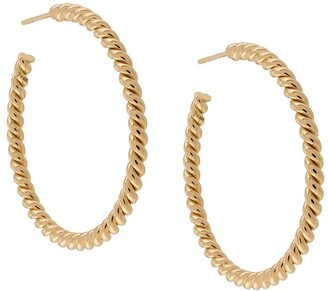 Isabel Lennse Large Twisted Hoops