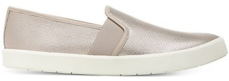 Vince Preston Metallic Slip-On Sneakers