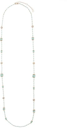 Marchesa Long Beaded Necklace