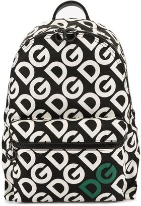 Dolce & Gabbana Mania print backpack