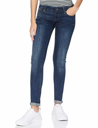 G Star Women's 3301 Low Skinny Jeans Blue (dark denim) W33/L28