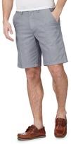 Maine New England Navy Printed Chino Shorts