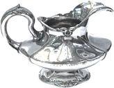 One Kings Lane Vintage Monogrammed Silver-Plated Gravy Boat