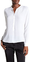 Zadig & Voltaire Long Sleeve Button Down Blouse
