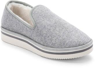 Dolce Vita Herve Faux Fur Lined Loafer Slipper