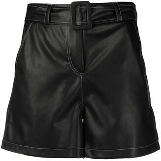Liu Jo High-Rise Belted Shorts