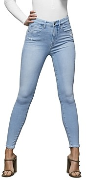 Good American Distressed Skinny Jeans