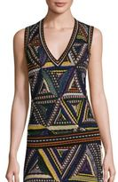 Missoni Triangle Patchwork Top