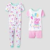 Peppa Pig Toddler Girls' Pajama Set