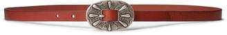 Ralph Lauren Skinny Leather Buckle Belt