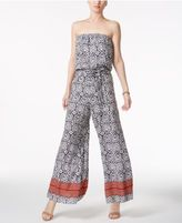 MSK Strapless Wide-Leg Jumpsuit
