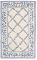 "Safavieh Chelsea Collection HK230 Rug, Ivory/Light Blue, 2'6""x4'"