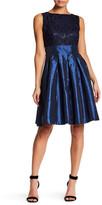 Sangria Lace Fit & Flare Dress (Petite)