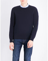 Ps By Paul Smith Logo-embroidered Cotton Jumper