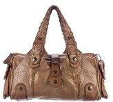 Chloé Python & Leather Silverado Bag